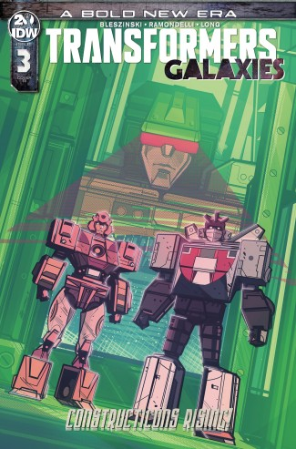 TRANSFORMERS GALAXIES #3 1 IN 10 INCENTIVE VARIANT