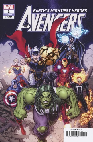 AVENGERS #3 ART ADAMS 1 IN 25 INCENTIVE VARIANT