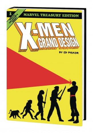 X-MEN GRAND DESIGN OMNIBUS HARDCOVER