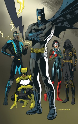 BATMAN AND THE OUTSIDERS VOLUME 2 A LEAGUE OF THEIR OWN GRAPHIC NOVEL