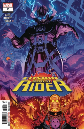 COSMIC GHOST RIDER #2 (2ND PRINTING)
