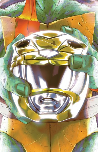 MIGHTY MORPHIN POWER RANGERS TEENAGE MUTANT NINJA TURTLES #2 MICHELANGELO COVER