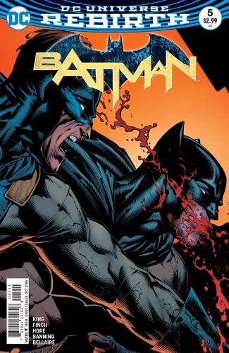 BATMAN #5 (2016 SERIES)