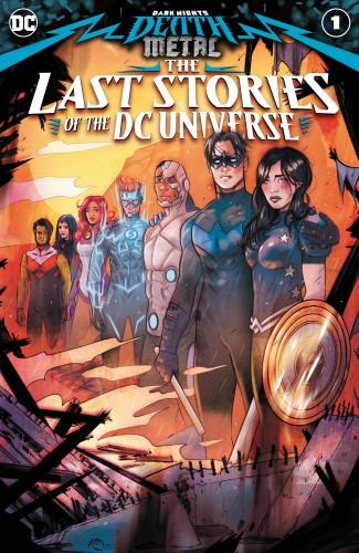 DARK NIGHTS DEATH METAL LAST STORIES OF THE DCU #1