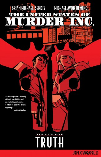 UNITED STATES OF MURDER INC VOLUME 1 TRUTH GRAPHIC NOVEL (DC EDITION)