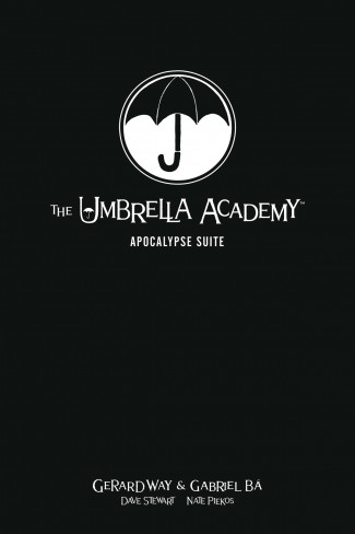 UMBRELLA ACADEMY LIBRARY EDITION VOLUME 1 APOCALYPSE SUITE HARDCOVER
