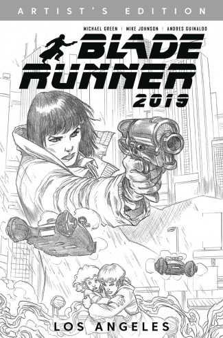 BLADE RUNNER 2019 VOLUME 1 WELCOME TO LOS ANGELES ARTIST EDITION GRAPHIC NOVEL