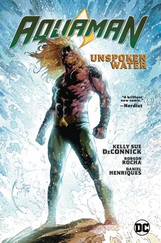 AQUAMAN VOLUME 1 UNSPOKEN WATER GRAPHIC NOVEL