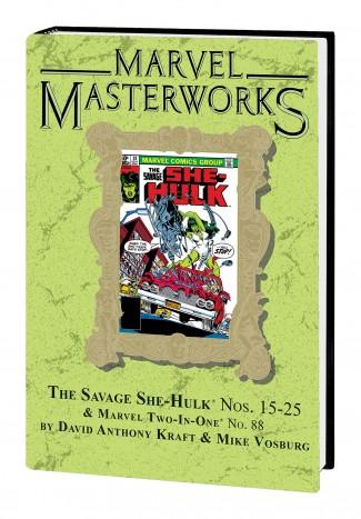 MARVEL MASTERWORKS SAVAGE SHE-HULK VOLUME 2 DM VARIANT #274 EDITION HARDCOVER
