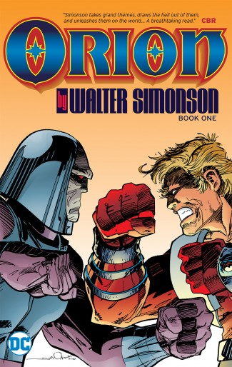ORION BY WALTER SIMONSON BOOK 1 GRAPHIC NOVEL