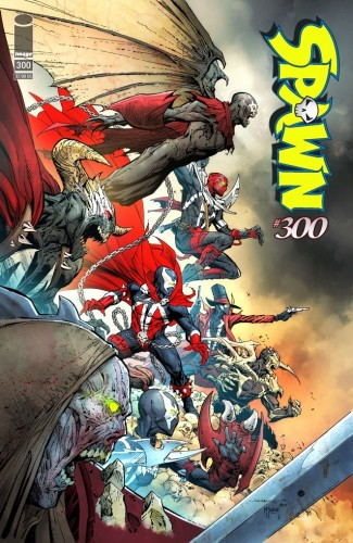 SPAWN #300 COVER H OPENA