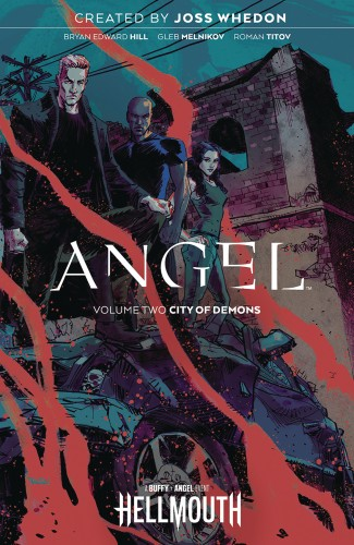 ANGEL VOLUME 2 GRAPHIC NOVEL