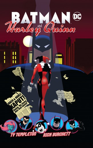 BATMAN AND HARLEY QUINN HARDCOVER