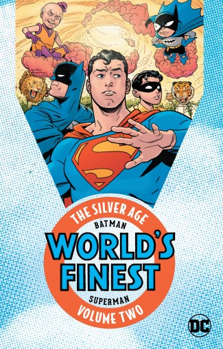 BATMAN AND SUPERMAN IN WORLDS FINEST THE SILVER AGE VOLUME 2 GRAPHIC NOVEL
