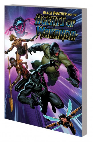 BLACK PANTHER AND THE AGENTS OF WAKANDA VOLUME 1 GRAPHIC NOVEL