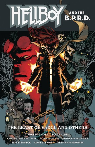 HELLBOY AND THE BPRD THE BEAST OF VARGU AND OTHERS GRAPHIC NOVEL