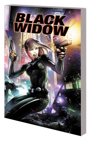 BLACK WIDOW SEEING RED GRAPHIC NOVEL