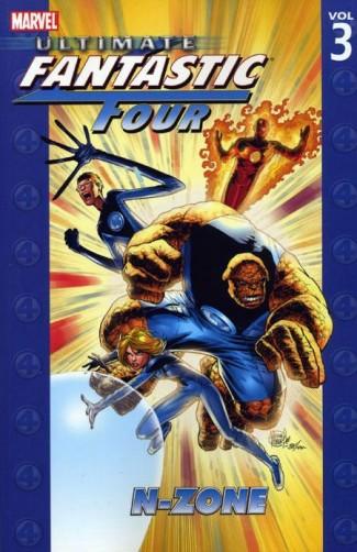 ULTIMATE FANTASTIC FOUR VOLUME 3 N-ZONE GRAPHIC NOVEL