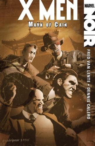 X-MEN NOIR MARK OF CAIN HARDCOVER