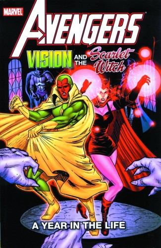 AVENGERS VISION AND THE SCARLET WITCH A YEAR IN THE LIFE GRAPHIC NOVEL