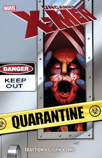 UNCANNY X-MEN QUARANTINE GRAPHIC NOVEL