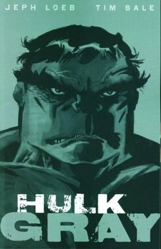 HULK GRAY GRAPHIC NOVEL