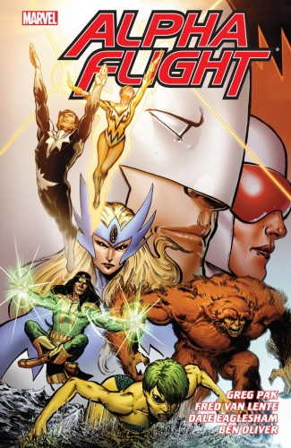 ALPHA FLIGHT COMPLETE SERIES BY PAK AND LENTE GRAPHIC NOVEL