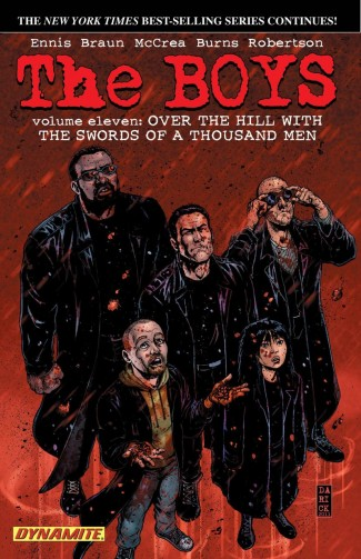 THE BOYS VOLUME 11 OVER THE HILL WITH THE SWORDS OF A THOUSAND MEN GRAPHIC NOVEL