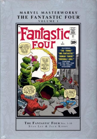 MARVEL MASTERWORKS FANTASTIC FOUR VOLUME 1 HARDCOVER (NEW PRINTING)