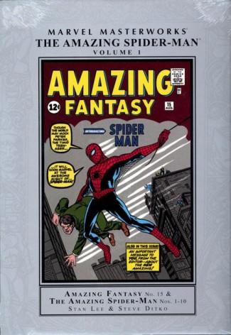 MARVEL MASTERWORKS AMAZING SPIDER-MAN VOLUME 1 HARDCOVER (NEW PRINTING)