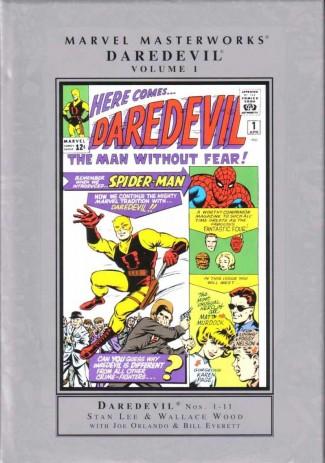 MARVEL MASTERWORKS DAREDEVIL VOLUME 1 HARDCOVER (NEW PRINTING)