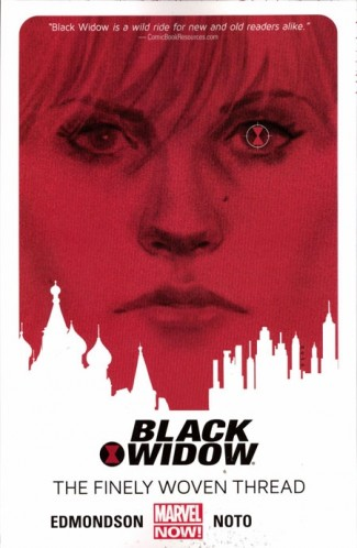BLACK WIDOW VOLUME 1 FINELY WOVEN THREAD GRAPHIC NOVEL