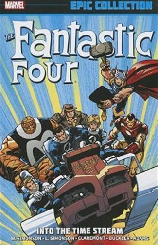 FANTASTIC FOUR EPIC COLLECTION INTO THE TIME STREAM GRAPHIC NOVEL