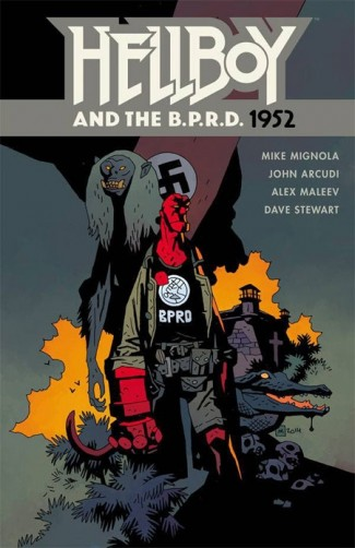 HELLBOY AND THE BPRD 1952 GRAPHIC NOVEL