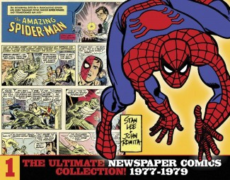 AMAZING SPIDER-MAN ULTIMATE NEWSPAPER COMICS COLLECTION VOLUME 1 1977-1979 HARDCOVER