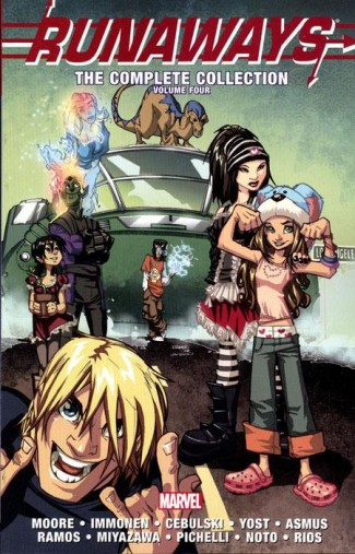 RUNAWAYS COMPLETE COLLECTION VOLUME 4 GRAPHIC NOVEL