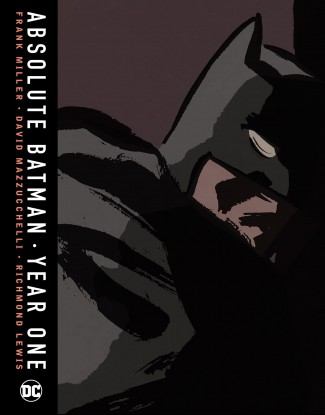 ABSOLUTE BATMAN YEAR ONE HARDCOVER