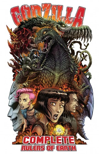 GODZILLA COMPLETE RULERS OF EARTH VOLUME 1 GRAPHIC NOVEL