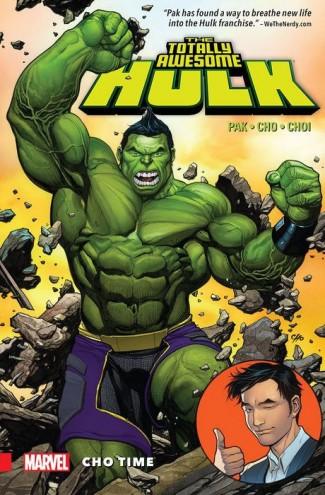TOTALLY AWESOME HULK VOLUME 1 CHO TIME GRAPHIC NOVEL