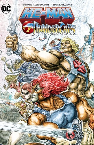 HE-MAN THUNDERCATS GRAPHIC NOVEL