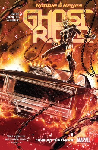 GHOST RIDER VOLUME 1 FOUR ON THE FLOOR GRAPHIC NOVEL