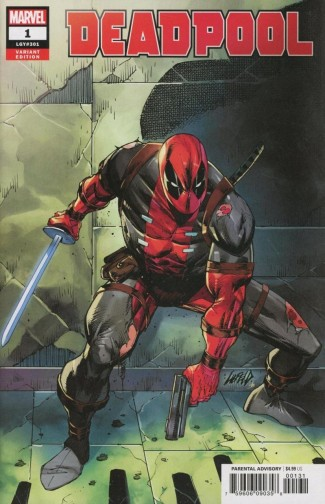 DEADPOOL #1 (2018 SERIES) LIEFELD 1 IN 25 INCENTIVE VARIANT