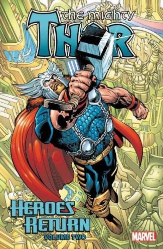 THOR HEROES RETURN OMNIBUS VOLUME 2 HARDCOVER