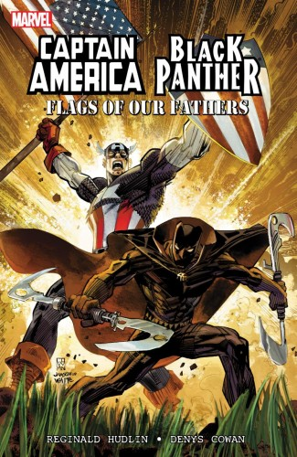 CAPTAIN AMERICA BLACK PANTHER FLAGS OUR FATHERS GRAPHIC NOVEL