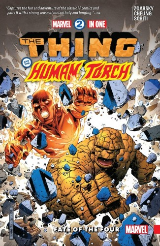 MARVEL TWO-IN-ONE VOLUME 1 FATE OF THE FOUR GRAPHIC NOVEL