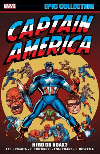 CAPTAIN AMERICA EPIC COLLECTION HERO OR HOAX GRAPHIC NOVEL