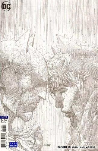 BATMAN #50 (2016 SERIES) - 1 IN 100 INCENTIVE JIM LEE PENCILS VARIANT