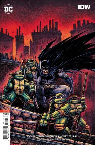 BATMAN TEENAGE MUTANT NINJA TURTLES III #2 VARIANT
