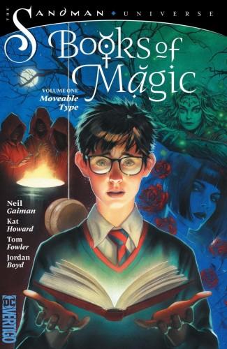 BOOKS OF MAGIC VOLUME 1 MOVEABLE TYPE GRAPHIC NOVEL