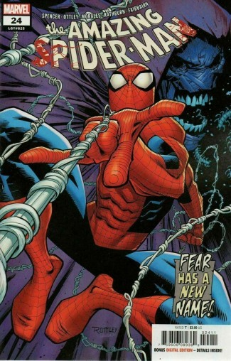 AMAZING SPIDER-MAN #24 (2018 SERIES) SECRET CARNAGE BLOOD VARIANT
